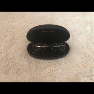 Michael Kors Tortoise Shell Rectangle Eyeglasses